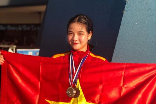 Nhan sắc đời thường của hot girl taekwondo giành HCĐ SEA Games