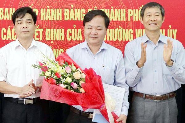 Ông Nguyễn Hồng Quang giữ chức Bí thư Thành ủy Tam Kỳ
