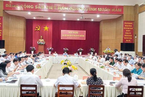 Kiên Giang: Chuẩn bị tốt và tổ chức thành công đại hội đảng bộ các cấp, tiến tới Đại hội XIII của Đảng