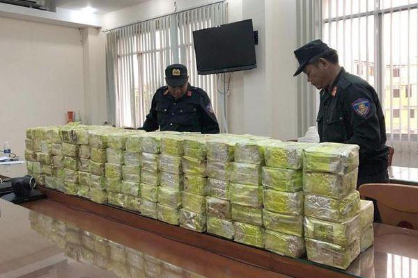 Ma túy từ Tam Giác Vàng qua Lào, Campuchia vào Việt Nam