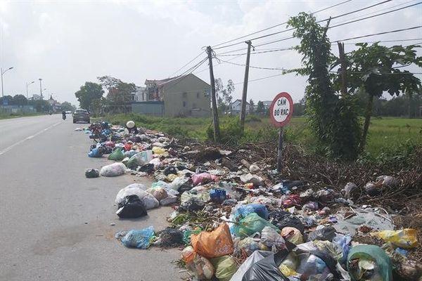 Nghệ An: Lúng túng trước rác thải