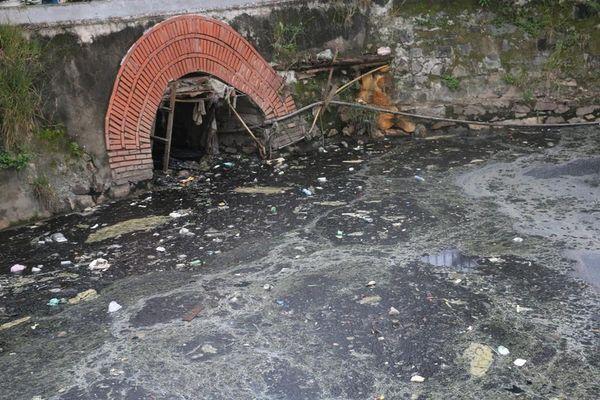 Ô nhiễm nghiêm trọng tại di tích hào Thành cổ Vinh