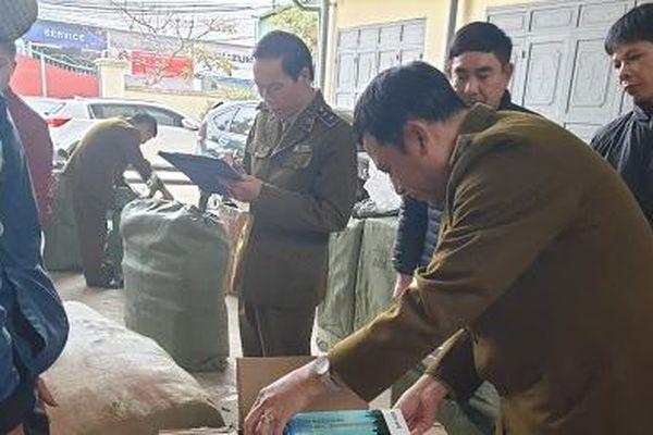 Nhập lậu gần 1000 túi dầu ủ tóc do Trung Quốc sản xuất về bán kiếm lời