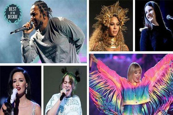 Những album nhạc xuất sắc nhất thập kỷ