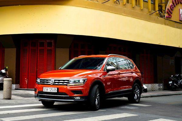 Volkswagen Việt Nam tặng phí trước bạ cho khách mua Tiguan Allspace Highline