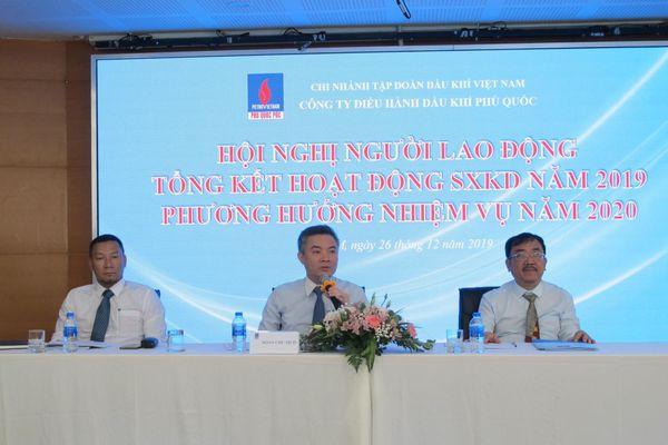 Phú Quốc POC phấn đấu cho mục tiêu 'First Gas' Dự án Khí Lô B vào cuối năm 2023