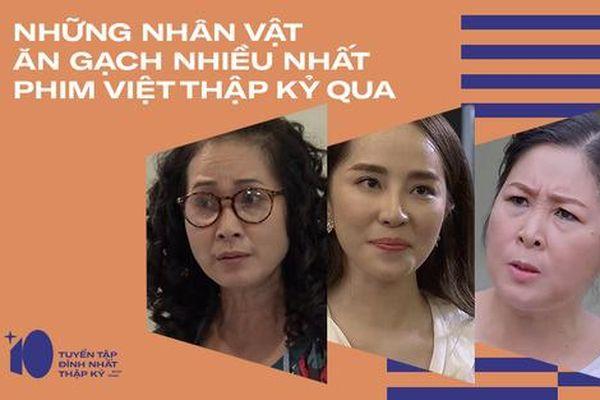 6 gương mặt bị ném đá nhiều nhất phim Việt thập kỷ qua toàn là nữ nhân