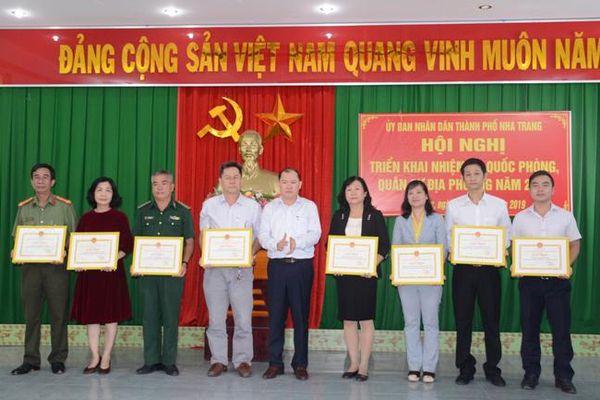 TP. Nha Trang triển khai nhiệm vụ quốc phòng, quân sự địa phương năm 2020