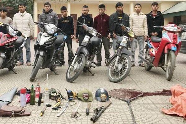 Nhóm tội phạm chuyên 'thủ' hung khí gây ra 24 vụ cướp giật, trộm cắp tài sản