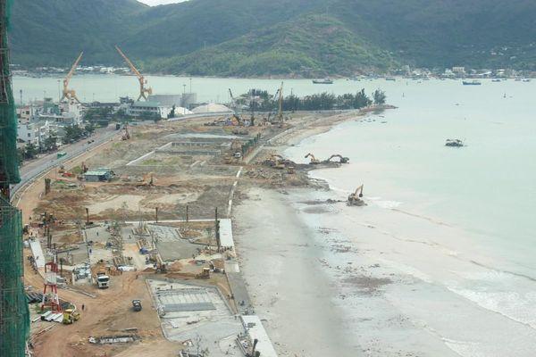 Nhà đầu tư sẽ làm gì với khu đất lấn biển Mũi Tấn rộng hơn 12ha?