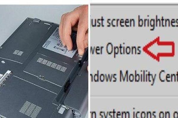 Pin laptop xuất hiện dấu 'X' đỏ- 2 cách khắc phục dễ dàng nhất