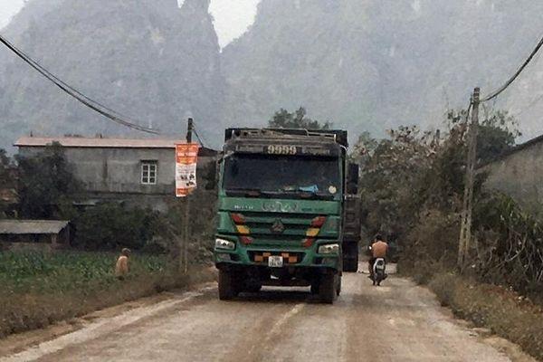 Hữu Lũng, Lạng Sơn: Xe quá khổ, quá tải hoành hành