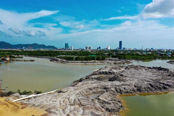 Đầm Thị Nại bị phá nát khi dự án 5.000 tỷ triển khai