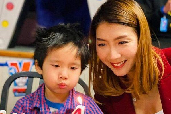 Ngọc Quyên khoe ảnh sinh nhật con trai 4 tuổi, chồng cũ vắng mặt