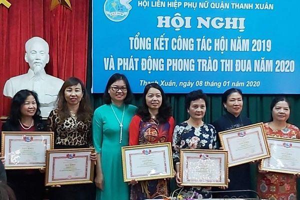 Phụ nữ quận Thanh Xuân: Tích cực tham gia xây dựng đô thị văn minh