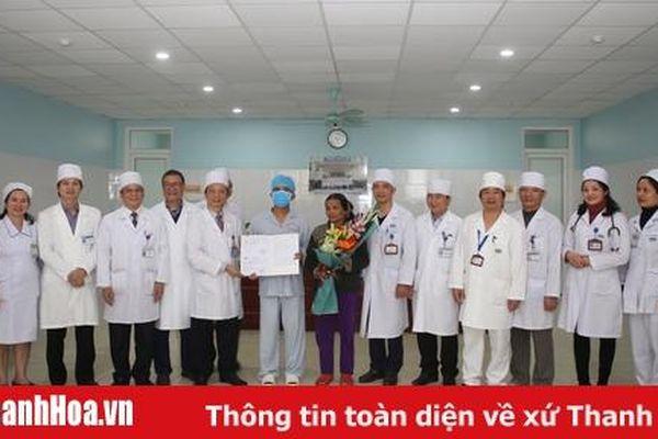 Ca ghép thận từ người cho chết não đầu tiên tại Bệnh viện Đa khoa tỉnh được xuất viện