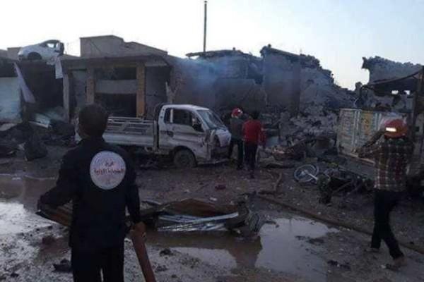 Syria: Nổ lớn ở Bắc Raqqa, nhiều lính Thổ Nhĩ Kỳ thiệt mạng