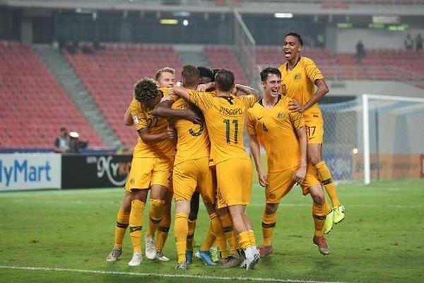 Nhọc nhằn hạ Syria, Australia vào bán kết U23 châu Á