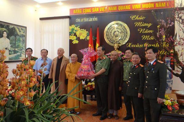 Chúc Tết tại các Ban Trị sự Lâm Đồng, Gia Lai