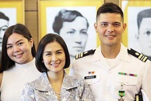 Chồng mỹ nhân đẹp nhất Philippines nhận hàm trung úy