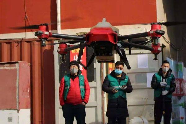 Drone thành công cụ đắc lực của Trung Quốc chống virus corona