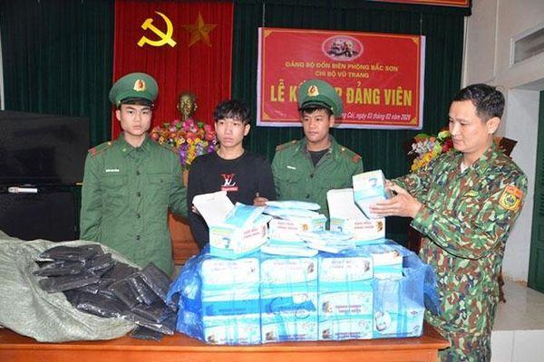 Quảng Ninh bắt giữ hai vụ vận chuyển trái phép hơn 8.400 khẩu trang y tế và 3M9501V