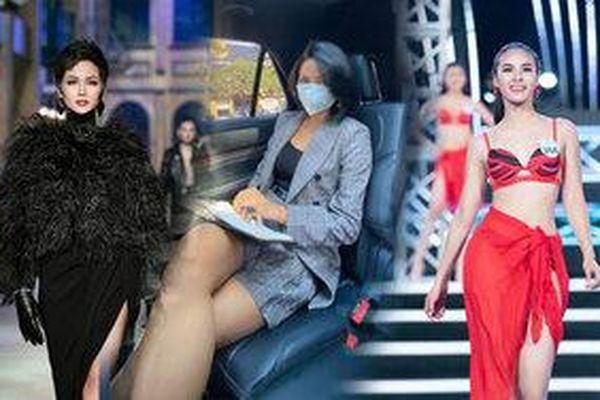 Fan phấn khích đoán H'Hen Niê luyện trình catwalk thần sầu cho Quỳnh Nga tại Miss Charm 2020