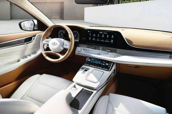 Cận cảnh mẫu sedan sang trọng nhất của Hyundai