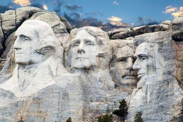 Câu chuyện phía sau 4 gương mặt tổng thống Mỹ ở núi Rushmore