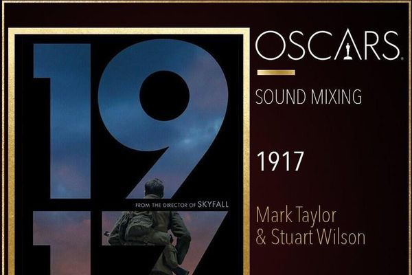 '1917' đoạt hai tượng vàng cho quay phim và hòa âm xuất sắc nhất