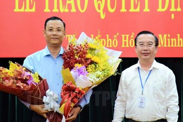 Trưởng ban Tuyên giáo Hóc Môn làm Phó chánh văn phòng Thành ủy TP.HCM