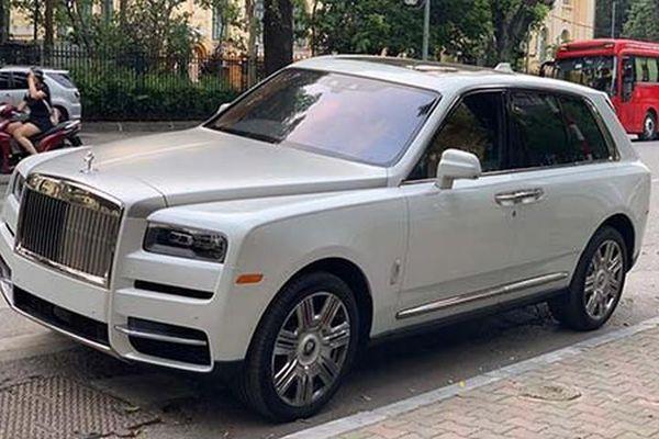 Rolls-Royce Cullinan lên sàn xe cũ chỉ hơn 17 tỷ ở Hà Nội