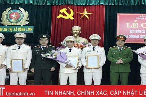 Xã duy nhất của Hồng Lĩnh có 5 công an chính quy về xã
