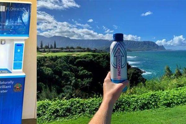 Sân golf tại Hawaii nói 'Aloha' với chai nhựa dùng một lần