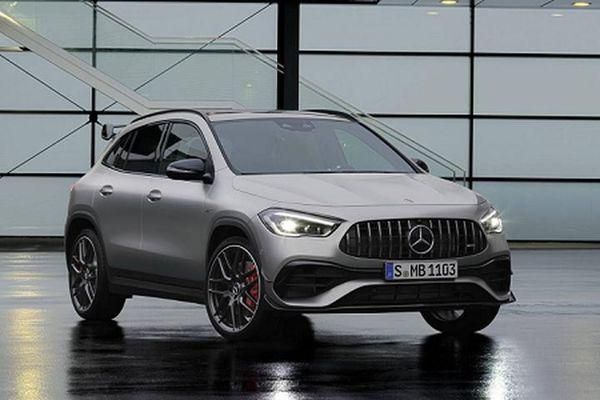Crossover Mercedes-AMG GLA 45 2021 'nội công' 415 mã lực