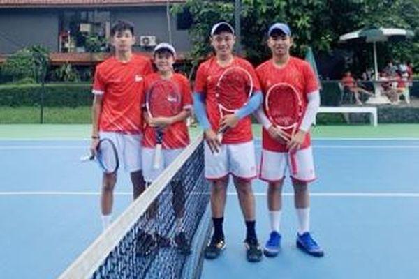 ĐT quần vợt trẻ nam vào bán kết, ĐT nữ tranh hạng ba