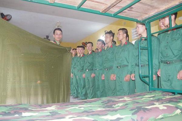 Những ngày đầu trong quân ngũ của người 'Bộ đội Cụ Hồ thời đại mới'