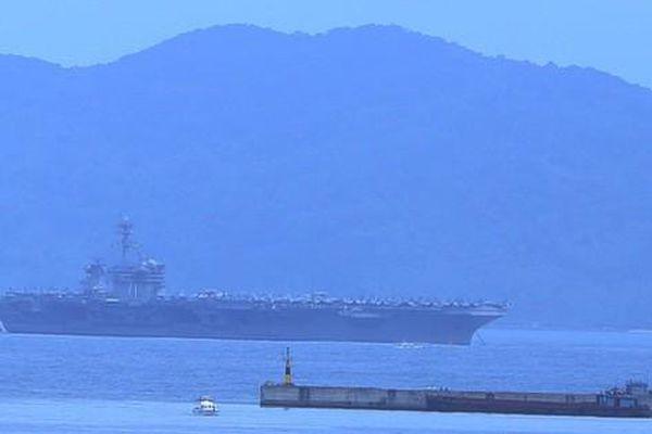 Tàu sân bay của Hải quân Hoa Kỳ đã đến Đà Nẵng