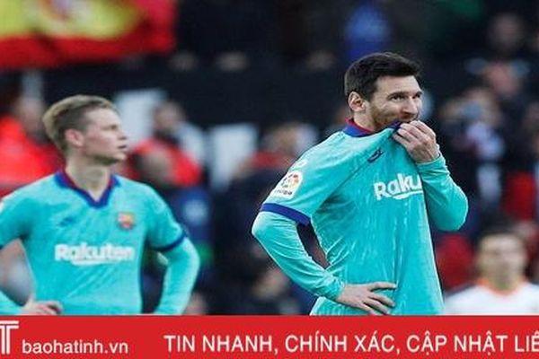 Barca và hội chứng 'phụ thuộc Messi'