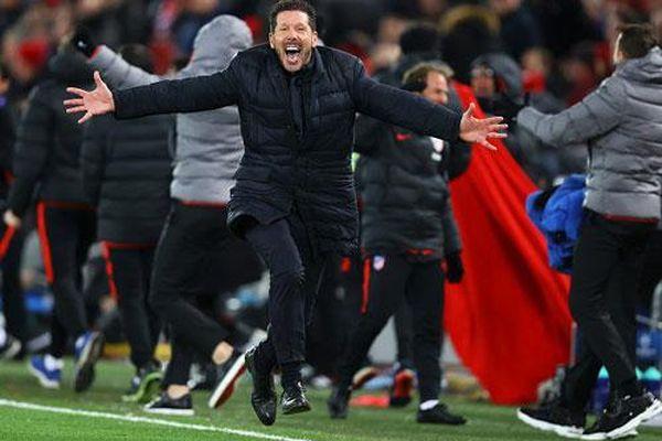 Diego Simeone vẫn là 'con quái vật' phản diện