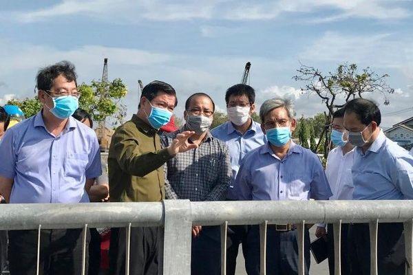 Bí thư Tỉnh ủy Nguyễn Hồng Lĩnh thị sát môi trường tại một số địa bàn trọng điểm