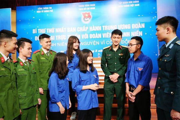 Bí thư thứ nhất T.Ư Đoàn đối thoại trực tuyến với thanh niên Việt Nam