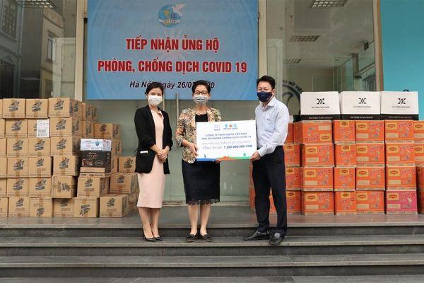 Nestle Việt Nam hỗ trợ hơn 3 tỷ đồng cho công tác chống dịch COVID-19