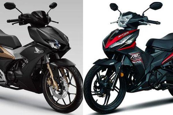 So sánh Honda Winner X với SYM Star SR 170