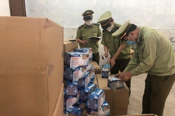 Quảng Ninh tạm giữ 1.500 hộp khẩu trang vi phạm về hóa đơn, chứng từ