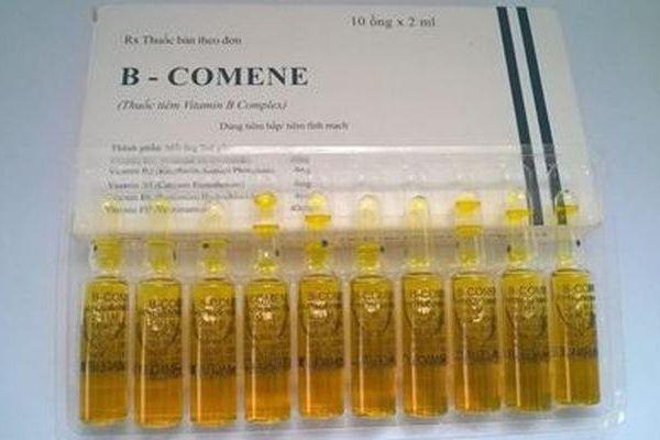 Hà Nội: Đình chỉ lưu hành thuốc tiêm B-Comene
