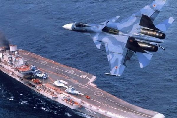 Khó tin một thời oanh liệt ở Syria của tàu sân bay 'hết đát' Đô đốc Kuznetsov