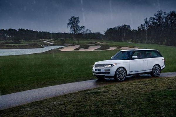 Xe SUV hạng sang Range Rover Adventum Coupe chuẩn bị ra mắt