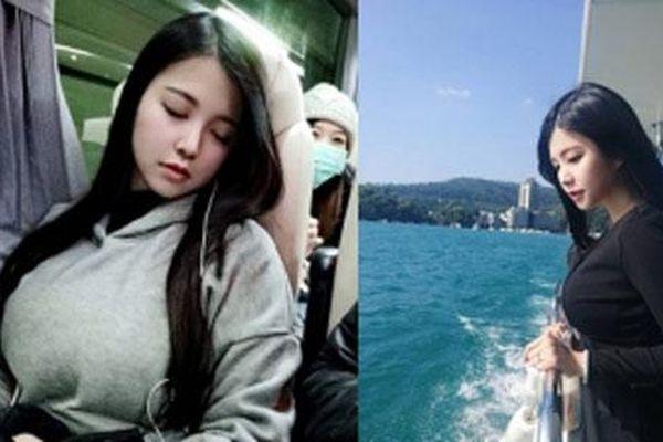 Cô gái trẻ ngủ gật trên tàu khiến dân mạng 'rần rần' truy tìm nhưng điều này mới khiến mọi người choáng váng