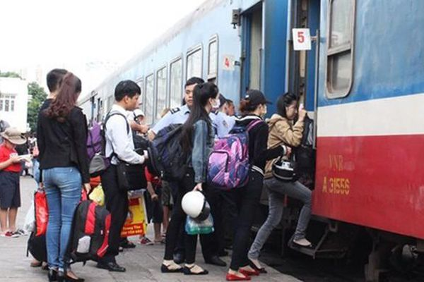 Đường sắt tăng thêm tàu Sài Gòn – Hà Nội sau giãn cách xã hội
